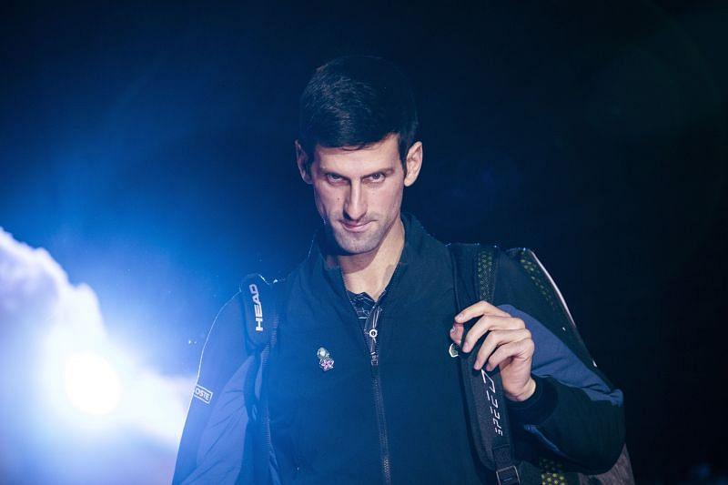 The Novak Djokovic stare