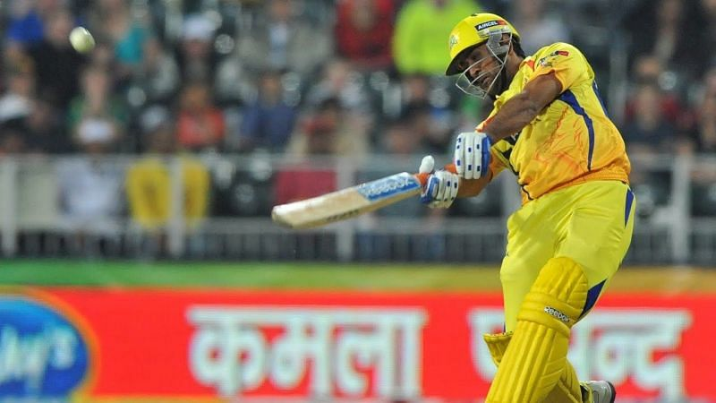 MS Dhoni and Albie Morkel stitched 47 runs off just 18 balls for the fifth wicket (Credits: IPLT20.com)