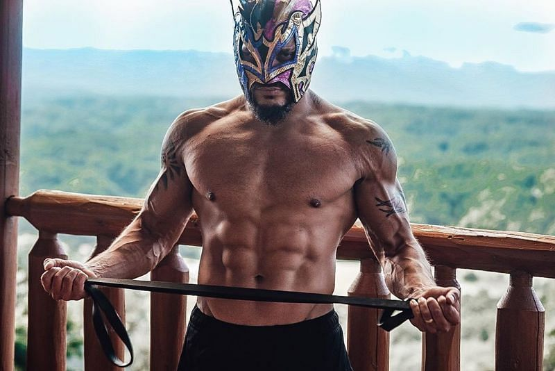 WWE Superstar Kalisto is currently in the best physical shape of his life