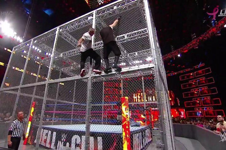 Kevin Owens fought Shane McMahon in a match to remember