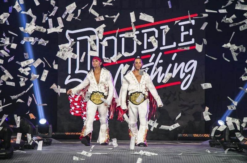 The Young Bucks at Double or Nothing