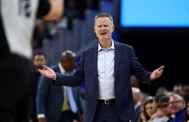 Warriors head coach Steve Kerr