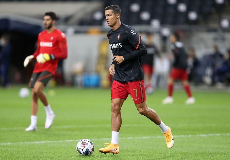 Cristiano Ronaldo of Juventus and Portugal