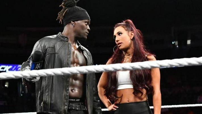 Carmella and R-Truth