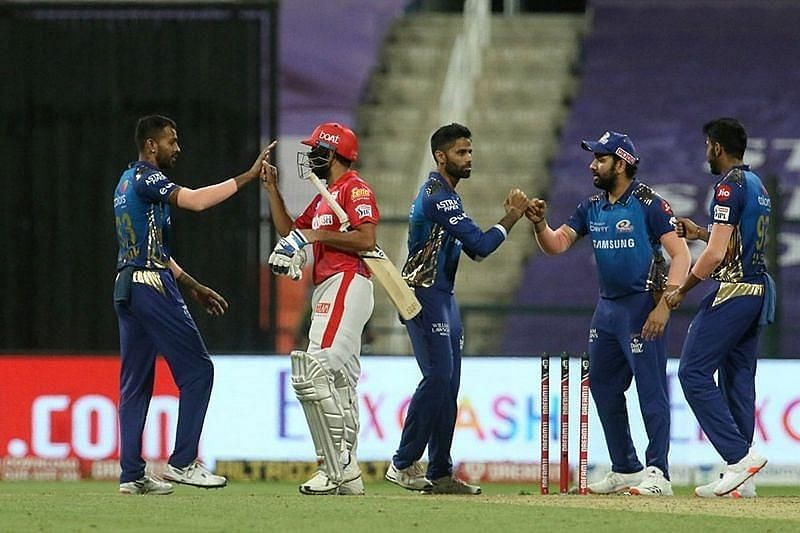 Mumbai Indians vs Kings XI Punjab. Pic: IPLT20.COM