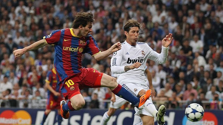 A Lionel Messi masterclass took Barcelona to the 2010-11 Champions League final.
