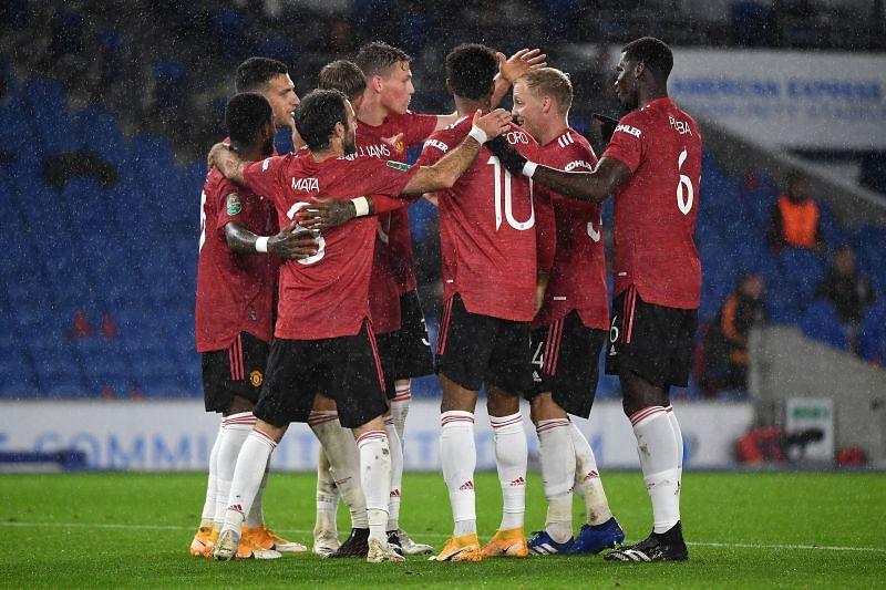 Manchester United will face Tottenham Hotspur on Sunday