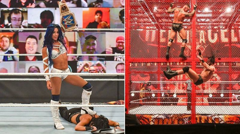 There were some interesting moments at Hell in a Cell