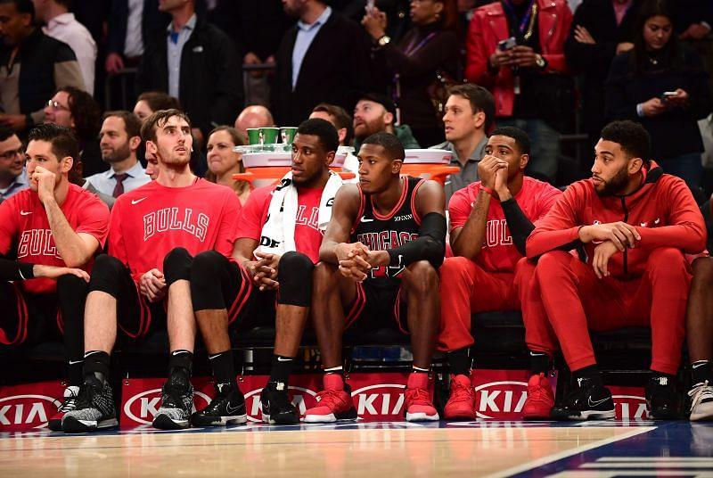 Chicago Bulls bench