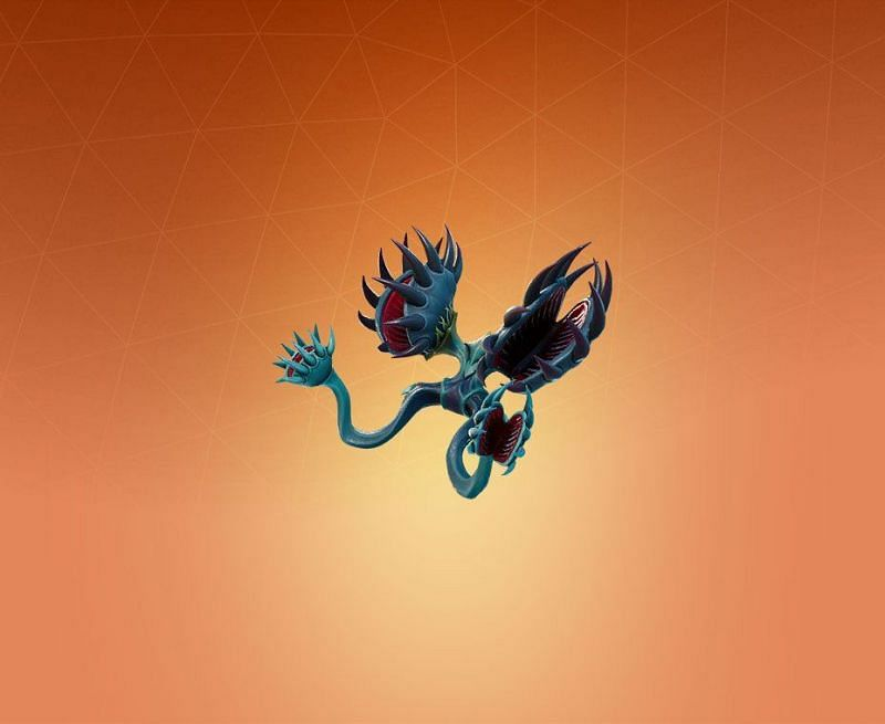 Flytrapper backbling is a part of a cosmetic set called Flytrap in Fortnite Season 4 (Image credit: Pro Game Guide)