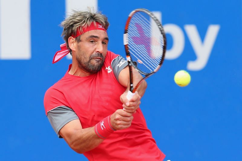 Marcos Baghdatis during the BMW Open in Munich, Germany in 2018