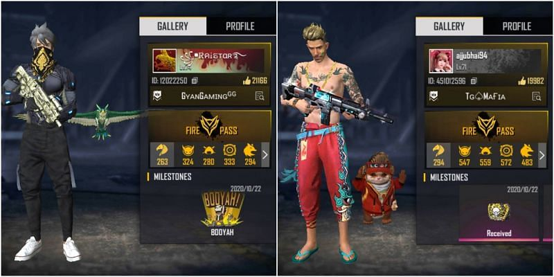 Raistar vs Total Gaming: Who has the better stats in Free Fire?