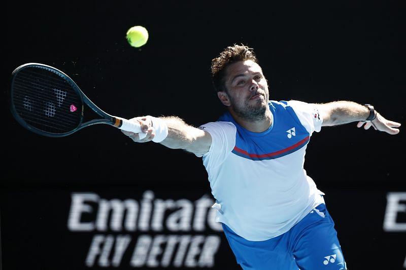 Stan Wawrinka at the 2020 Australian Open