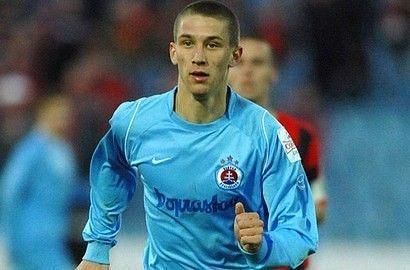 Sylvestr spent 5 seasons at Slovan Bratislava.