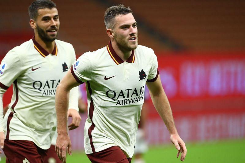 Jordan Veretout scored a penalty against AC Milan