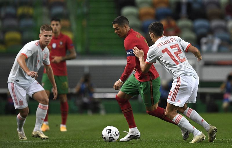 Portugal and Spain were on an even footing