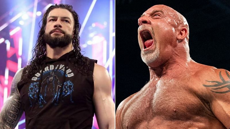 Booker T gave his thoughts on a possible Reigns vs Goldberg match at WrestleMania