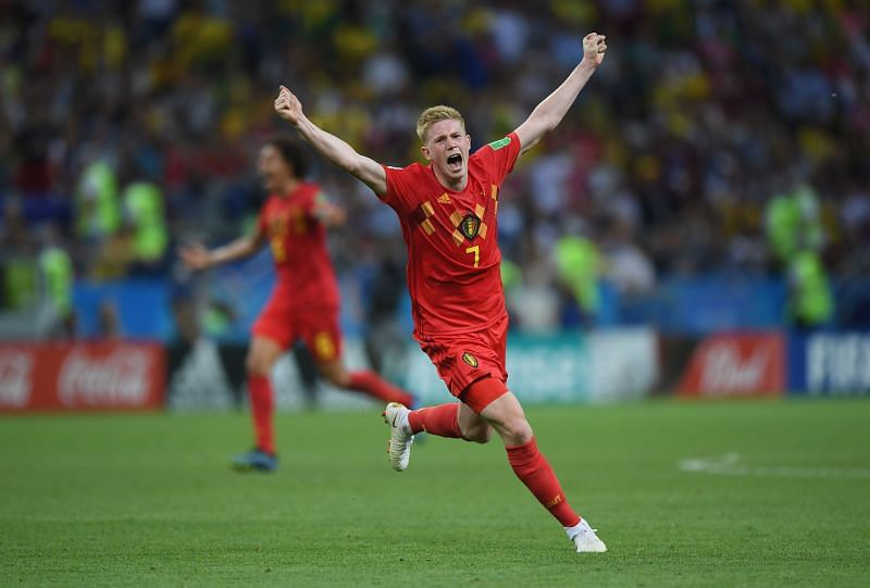 Kevin de Bruyne was among a number of first-team Belgium players rested