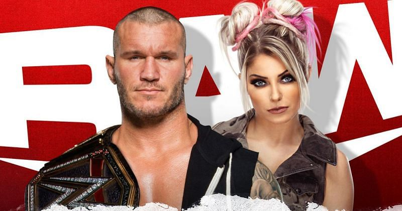 Randy Orton and Alexa Bliss.