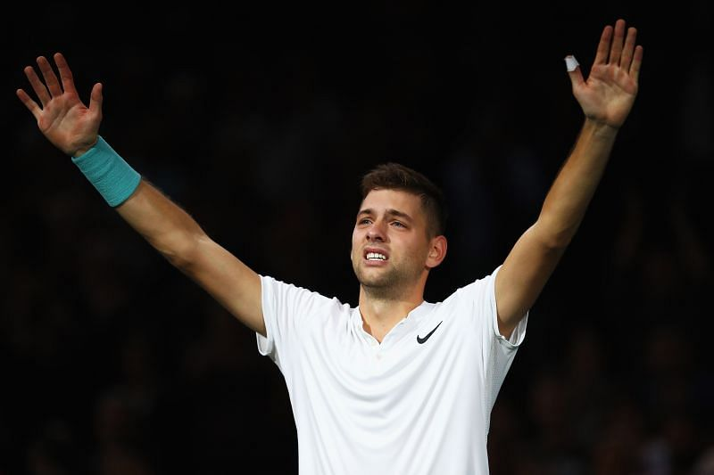 Filip Krajinovic holds the fifth seed in the ATP 250 tournament
