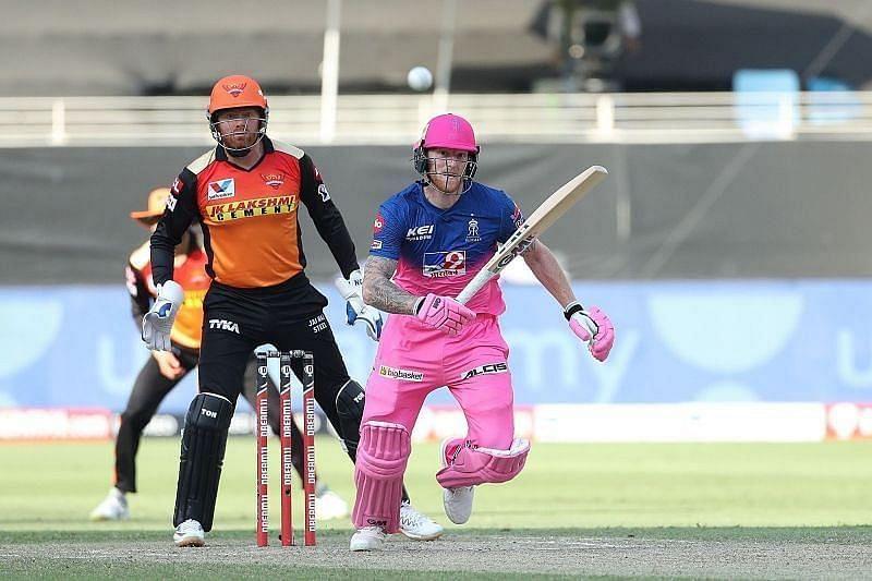 Rajasthan Royals vs Sunrisers Hyderabad. Pic: IPLT20.COM