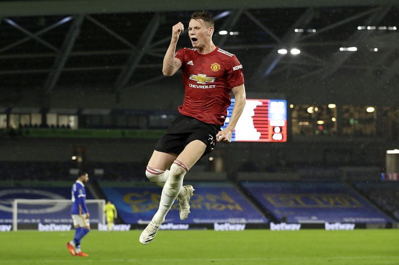 Scott McTominay was one of a raft of changes made by the Manchester United manager.