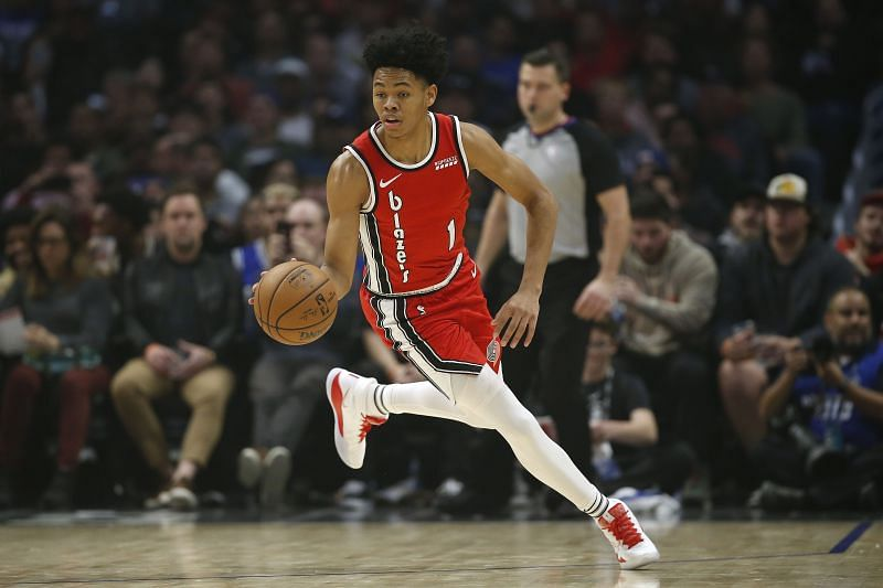 Anfernee Simons has been impressive for the Portland Trail Blazers.