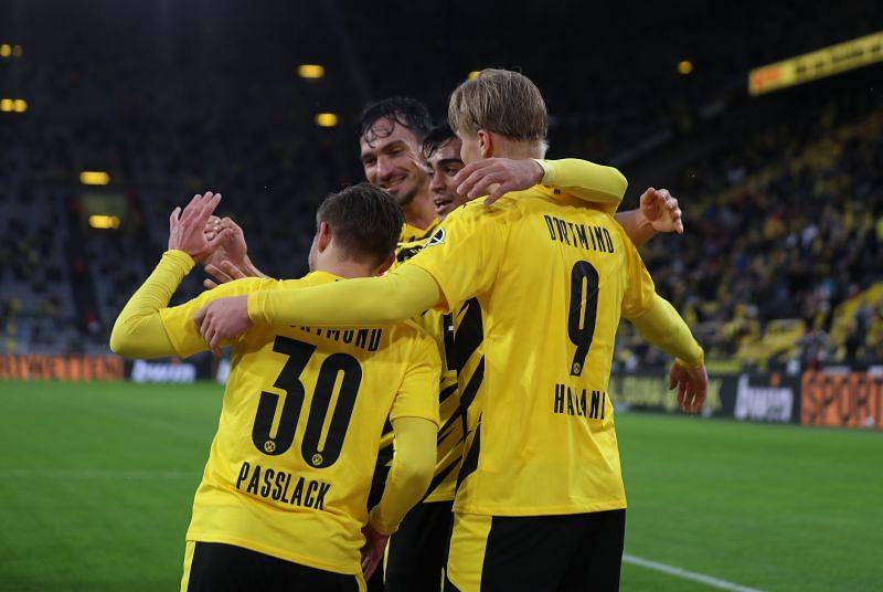 Borussia Dortmund will face Hoffenheim on Saturday