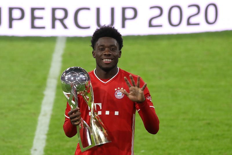 Alphonso Davies has quickly become a key player for Bayern Munich