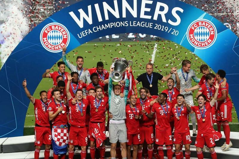 Bayern Munich are the defending champions in the 2020-21 UEFA Champions League.