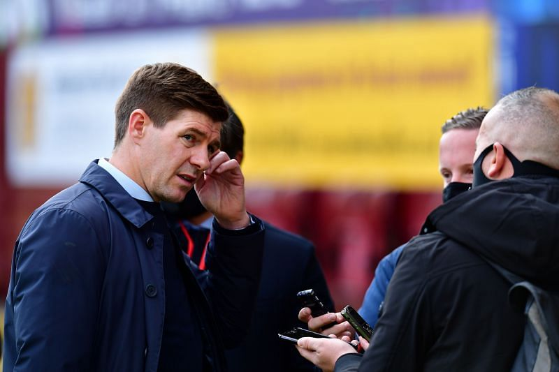 Steven Gerrard takes his Rangers side into another Old Firm Derby on Saturday