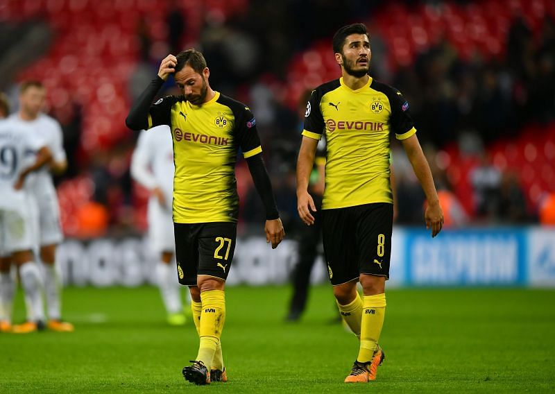 Nuri Sahin (right)