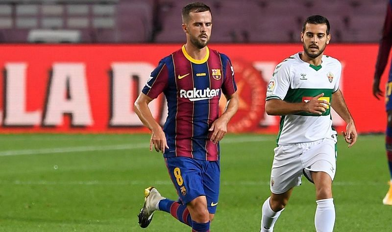 Miralem Pjanic could have a baptism of fire on his Juventus return.