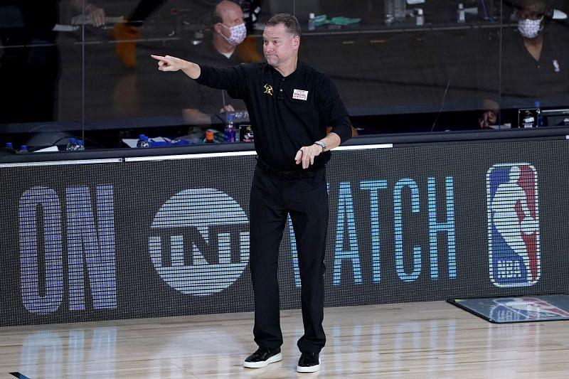 Nuggets head coach Mike Malone
