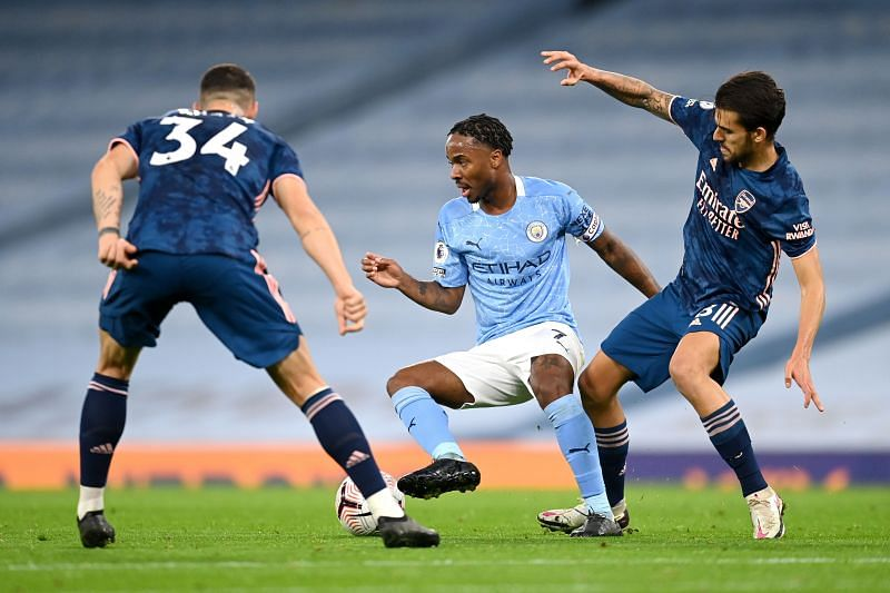 Sterling scored the match-winner for Manchester City.