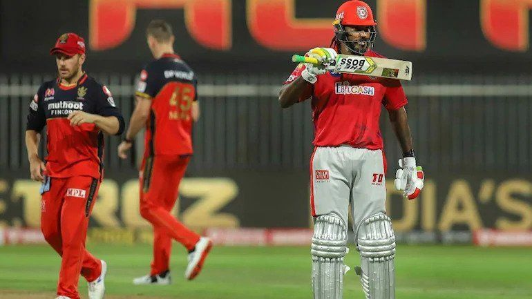Chris Gayle has two fifties in five IPL 2020 innings.