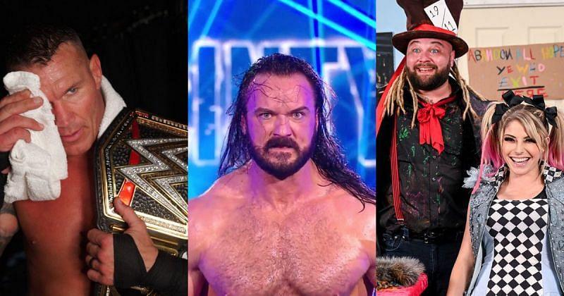 Randy Orton, Drew McIntyre, Bray Wyatt, and Alexa Bliss.