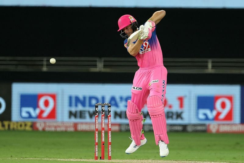 Jos Buttler has been batting lower down the order for the Rajasthan Royals [P/C: iplt20.com]