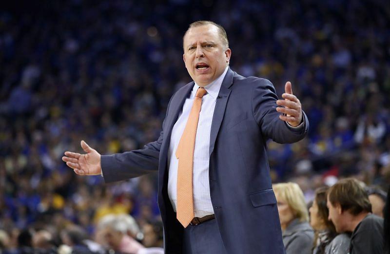 Knicks head coach Tom Thibodeau