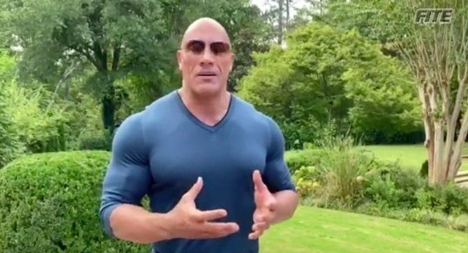 The Rock on Impact Wrestling