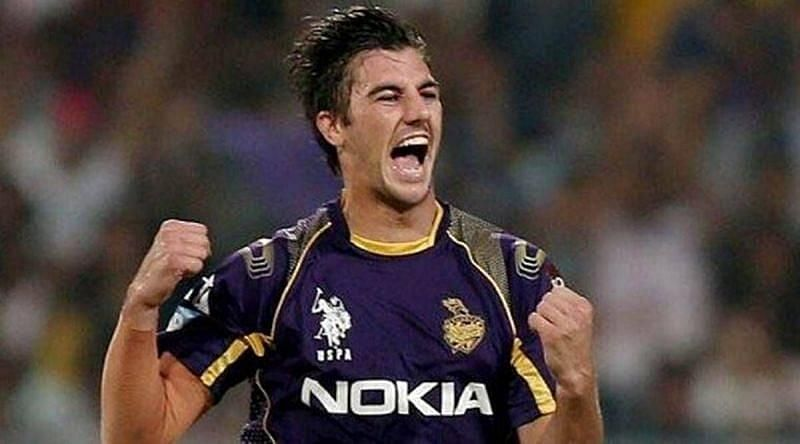 Pat Cummins was bowled out by the 11th over by KKR