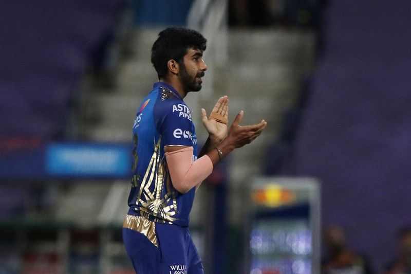 Jasprit Bumrah picked up figures of 3/14 against RCB
