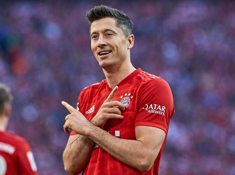 Robert Lewandowski is arguably the best striker at the moment.