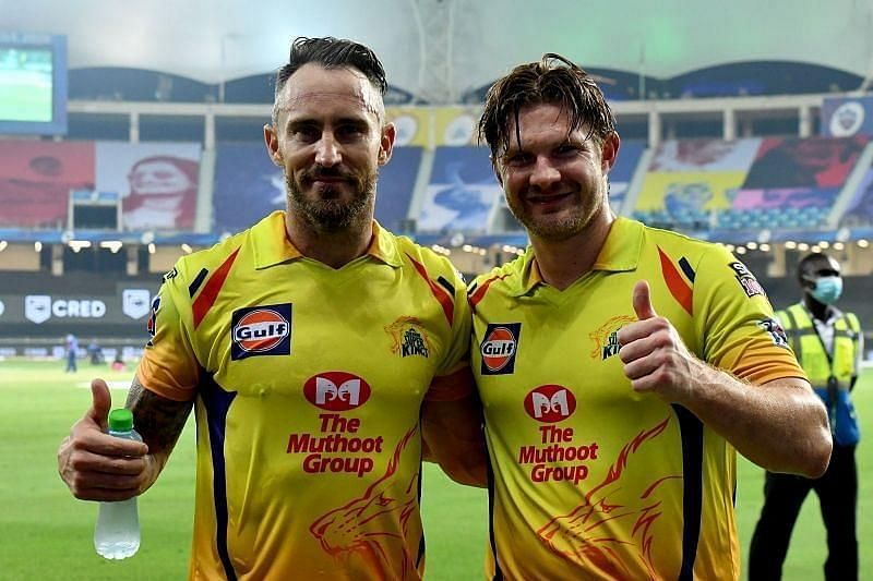 Shane Watson took CSK to a 10-wicket victory in the company of Faf du Plessis
