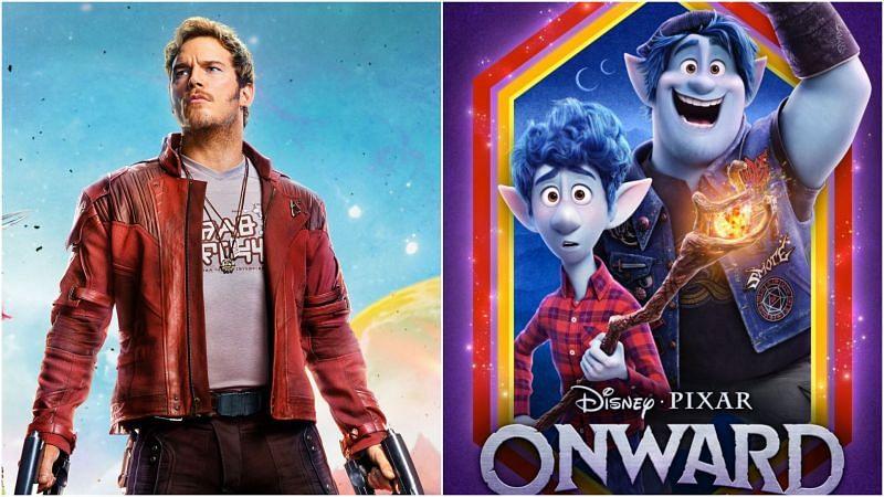 Chris Pratt starred alongside Tom Holland in the Pixar animated film, Onward