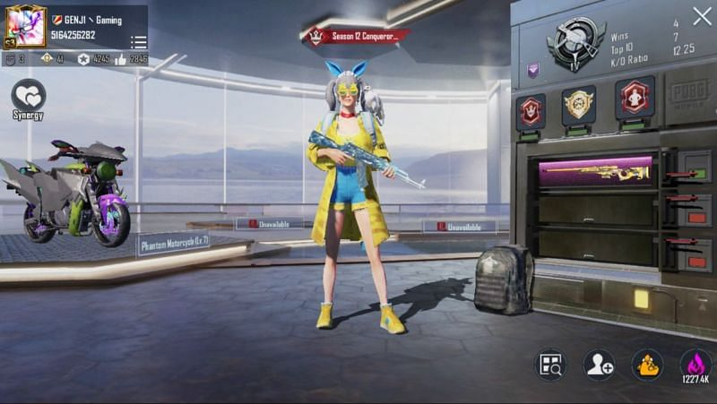 GENJ1 Gaming's PUBG Mobile ID