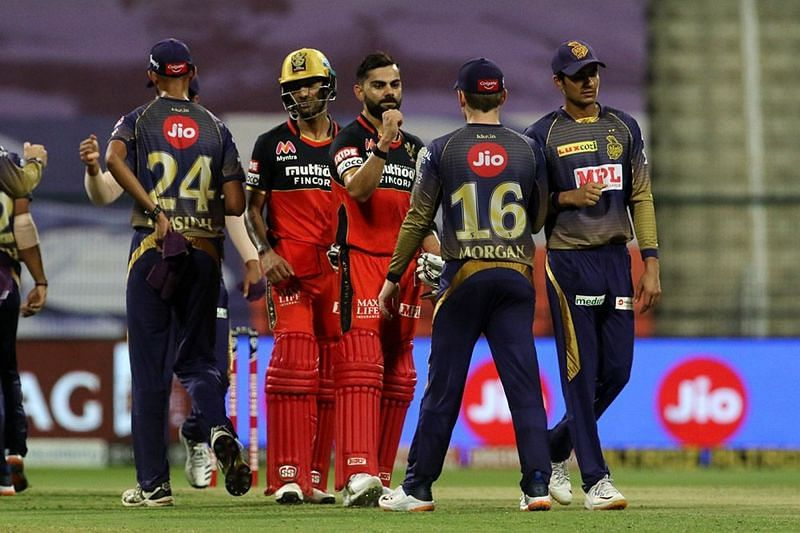 RCB defeated KKR by 8 wickets in yesterday