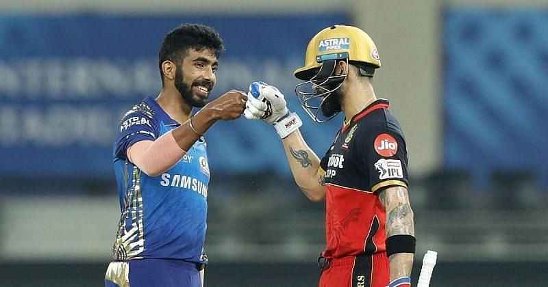 The Mumbai Indians vs the Royal Challengers Bangalore. Pic: IPLT20.COM