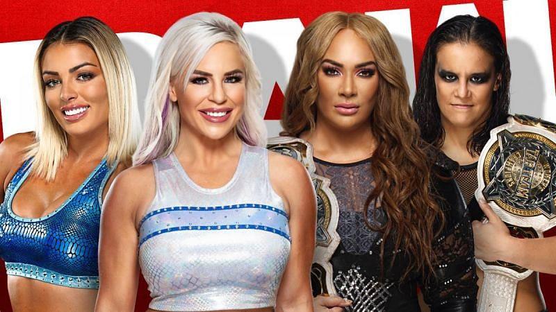 Mandy Rose & Dana Brooke vs. Nia Jax & Shayna Baszler.