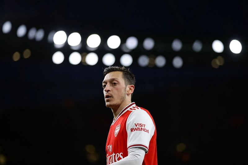 Mesut Ozil is set to see out the remaining year on his Arsenal contract